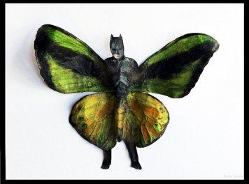 Batmanperhonen. 2014, 17,5 x 22,5cm.